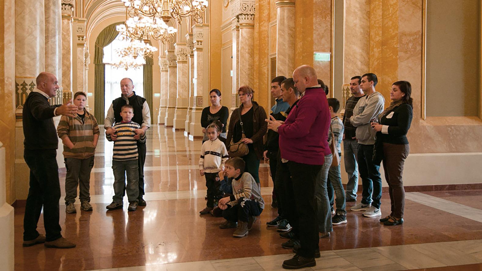 Idegenvezetés a Pesti Vigadóban a Turizmus Világnapja alkalmából