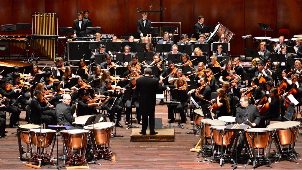 A San Antonio Youth Symphony Orchestra koncertje