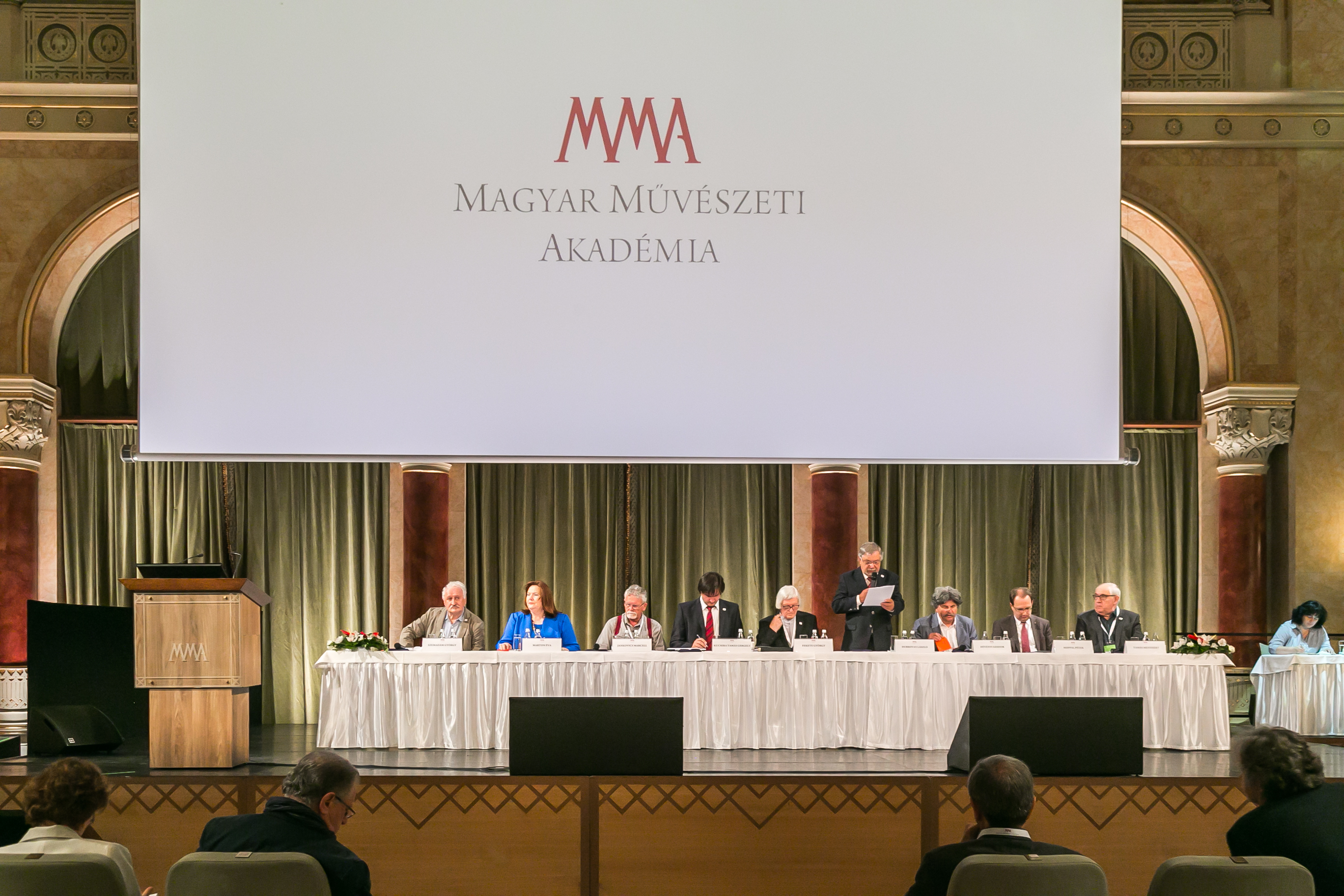 Hungarian Academy of Arts Holds General Assembly
