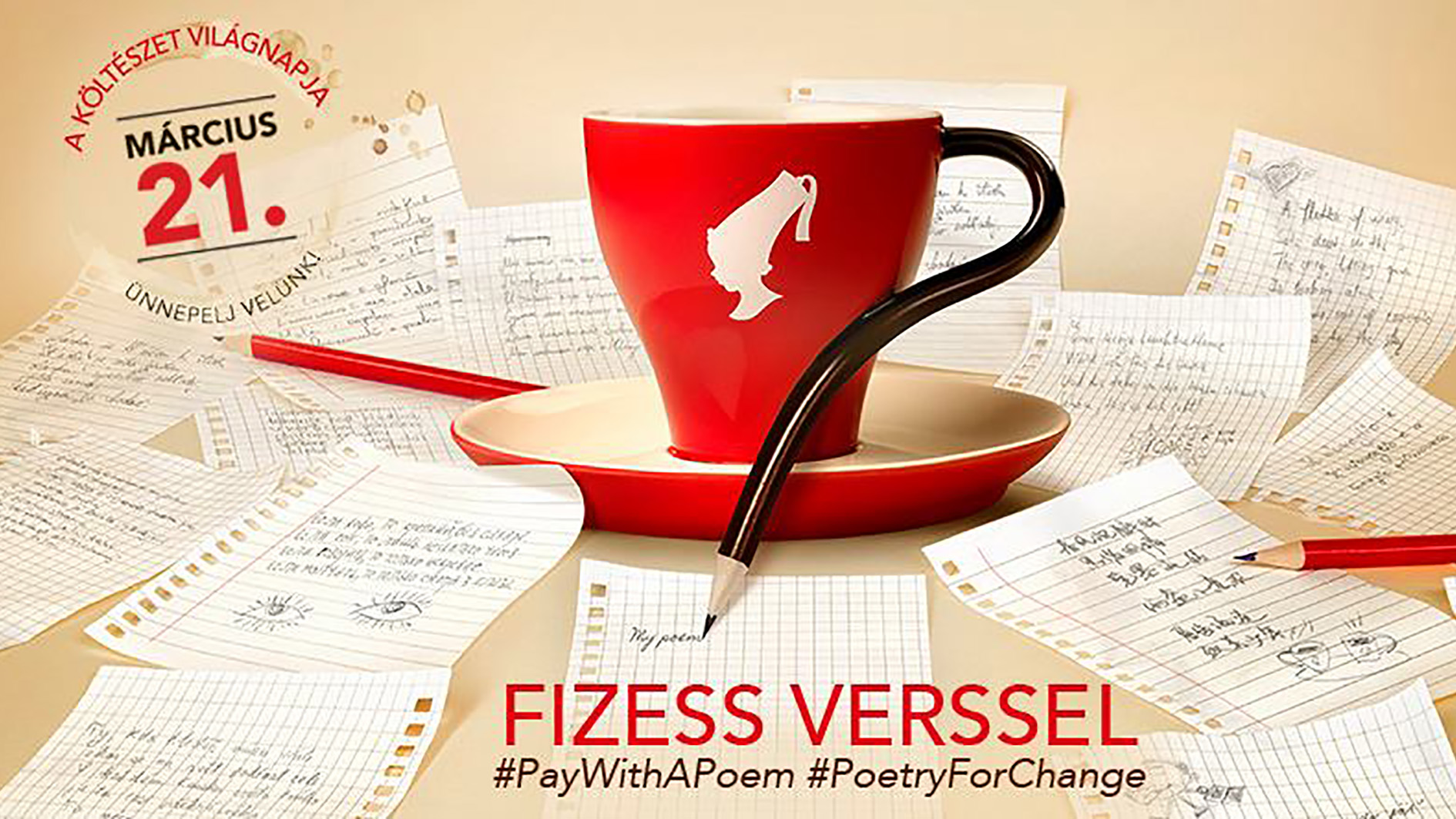 PAY BY POETRY on World Poetry Day!